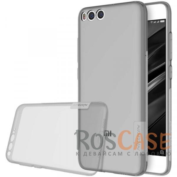 Мягкий прозрачный силиконовый чехол для Xiaomi Mi 6 (Серый (прозрачный))Описание:бренд:&amp;nbsp;Nillkin;совместимость: Xiaomi Mi 6;материал: термополиуретан;тип: накладка;ультратонкий дизайн;прозрачный корпус;не скользит в руках;защищает от механических повреждений.<br><br>Тип: Чехол<br>Бренд: Nillkin<br>Материал: TPU