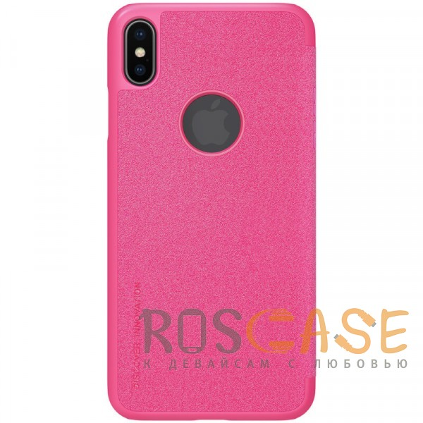"Фотография Розовый Nillkin Sparkle | Чехол-книжка для Apple iPhone XS Max (6.5"")"