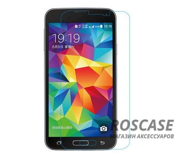 Защитное стекло Ultra Tempered Glass 0.33mm (H+) для Samsung G900 Galaxy S5 (картонная упаковка)Описание:совместимо с устройством Samsung G900 Galaxy S5;материал: закаленное стекло;тип: защитное стекло на экран.&amp;nbsp;Особенности:закругленные&amp;nbsp;грани стекла обеспечивают лучшую фиксацию на экране;стекло очень тонкое - 0,33 мм;отзыв сенсорных кнопок сохраняется;стекло не искажает картинку, так как абсолютно прозрачное;выдерживает удары и защищает от царапин;размеры и вырезы стекла соответствуют особенностям дисплея.<br><br>Тип: Защитное стекло<br>Бренд: Epik