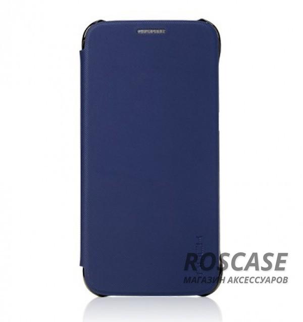 Чехол (книжка) Rock Veena Series для Samsung G930F Galaxy S7 (Синий / Blue)Описание:продукт компании&amp;nbsp;ROCK;разработан специально для&amp;nbsp;Samsung G930F Galaxy S7;материалы: поликарбонат, полиуретан;формат: чехол-книжка.Особенности:присутствуют все необходимые вырезы;рифленая поверхность;олеофобное покрытие;устойчив к появлению царапин;удобно ложится в руку.<br><br>Тип: Чехол<br>Бренд: ROCK<br>Материал: TPU