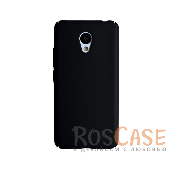 Пластиковая накладка soft-touch с защитой торцов Joyroom для Meizu M3 / M3 mini / M3s (Черный)<br><br>Тип: Чехол<br>Бренд: Epik<br>Материал: Пластик
