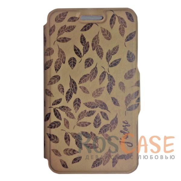 Универсальный чехол-книжка с магнитной застежкой Gresso Гланс для смартфона 5.5-6.0 дюймов (Латте)Описание:бренд -&amp;nbsp;Gresso;совместимость -&amp;nbsp;смартфоны с диагональю 5.5-6.0 дюймов;материал - искусственная кожа;тип - чехол-книжка;защищает гаджет со всех сторон;магнитная застежка;оригинальный принт в виде листьев на обложке;предусмотрены все функциональные вырезы;ВНИМАНИЕ: убедитесь, что ваша модель устройства находится в пределах максимального размера чехла. Размеры чехла: 15*8 см.<br><br>Тип: Чехол<br>Бренд: Gresso<br>Материал: Искусственная кожа