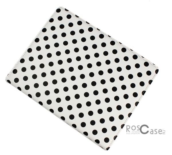 Фото чехла TTX Polka Dots (360 градусов) для Apple Ipad 3 - вид спереди белый в горошек