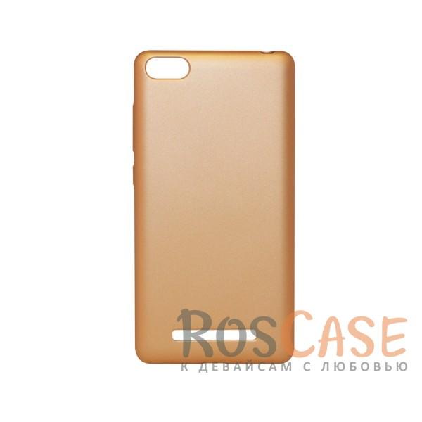 Матовая soft-touch накладка Joyroom из ударостойкого пластика с дополнительной защитой углов для Xiaomi Mi 4i / Mi 4c (Золотой)Описание:бренд - Joyroom;совместимость - Xiaomi Mi 4i / Mi 4c;материал - пластик;тип - накладка.<br><br>Тип: Чехол<br>Бренд: Epik<br>Материал: Пластик