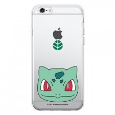 "фотография Bulbasaur / face Bulbasaur / face прозрачный силиконовый чехол ""Pokemon Go"" для Apple iPhone 5/5S/SE"