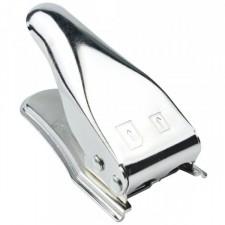 Обрезатель двойной обычная->микро sim/Нано sim  (металлический)