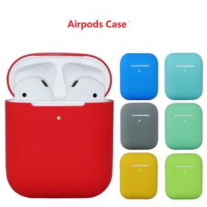 Силиконовый чехол Silicon Case для наушников AirPods 2