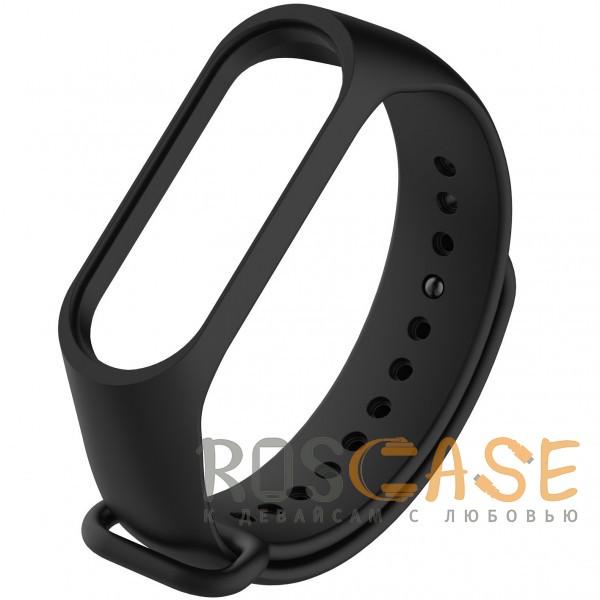 Xiaomi Mi Band 3 | Ремешок для фитнес-браслета (Черный)