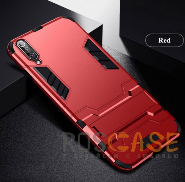 Изображение Красный / Dante Red Transformer | Противоударный чехол для Samsung A705F Galaxy A70 с мощной защитой корпуса