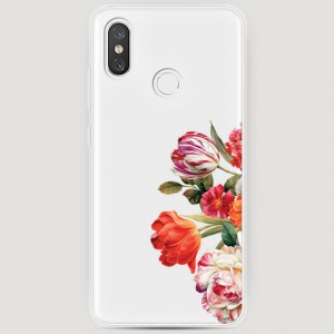 RosCase | Силиконовый чехол Весенний букет на Xiaomi Mi 8 для Xiaomi Mi 8