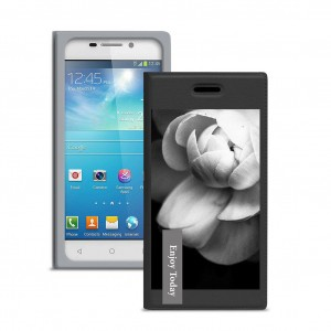 "Gresso ""Миранда Кувшинка"" |  женский чехол-книжка с принтом цветка для Samsung Galaxy C5 Pro"