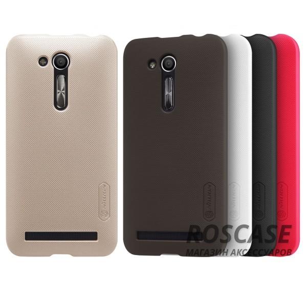 Матовый чехол для Asus ZenFone Go (ZB452KG) (+ пленка)Описание:производитель - компания&amp;nbsp;Nillkin;материал - поликарбонат;совместим с Asus ZenFone Go (ZB452KG);тип - накладка.&amp;nbsp;Особенности:матовый;прочный;тонкий дизайн;не скользит в руках;не выцветает;пленка в комплекте.<br><br>Тип: Чехол<br>Бренд: Nillkin<br>Материал: Поликарбонат