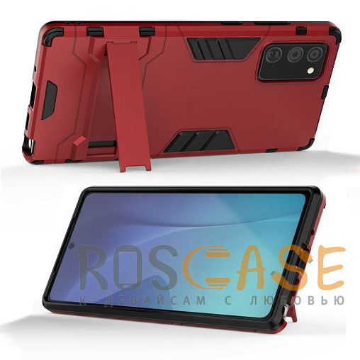 Фотография Красный Transformer   Противоударный чехол для Samsung Galaxy Note 20 с мощной защитой корпуса