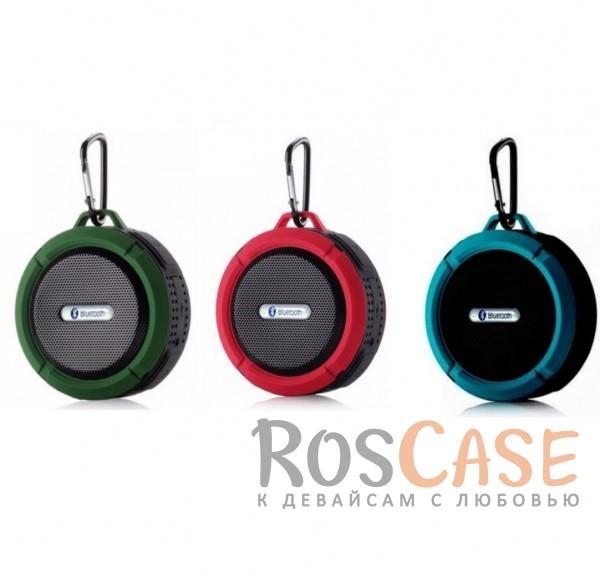 Портативная Bluetooth Колонка Tripbeats (водонепроницаемая)Описание:совместимость - универсальная;bluetooth соединение;материал - прорезиненный пластик;тип устройства - колонка.&amp;nbsp;Характеристики:водонепроницаемая;металлический карабин;размеры -&amp;nbsp;87*45*95 мм;синхронизация с устройством посредством Bluetooth или через аудио-кабель;встроенный аккумулятор (500 мАч);время зарядки - 2 часа;поддержка&amp;nbsp;SD карты;в комплекте кабель для зарядки.<br><br>Тип: Наушники/Гарнитуры<br>Бренд: Epik
