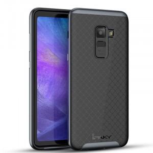 iPaky Hybrid   Противоударный чехол для Samsung A730 Galaxy A8+ (2018)