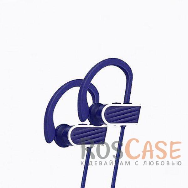Фотография Фиолетовый HOCO ES7 | Беспроводные наушники с микрофоном и специальным креплением