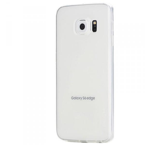 Мягкий чехол-накладка из ультратонкого силикона для Samsung G925F Galaxy S6 Edge (Бесцветный / Transparent)Описание:разработчик  - &amp;nbsp;Rock;разработан специально для Samsung G925F Galaxy S6 Edge;материал  -  термополиуретан;тип  -  накладка.&amp;nbsp;Особенности:соответствие всех вырезов функциям;прозрачный;не трескается;надежная система фиксации;на нем не видны следы от пальцевустойчив к пожелтению.<br><br>Тип: Чехол<br>Бренд: ROCK<br>Материал: TPU