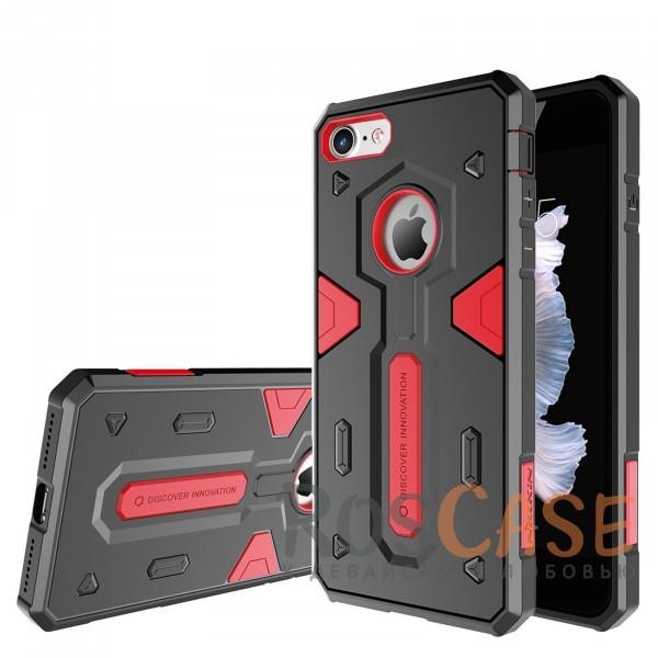 TPU+PC чехол Nillkin Defender 2 для Apple iPhone 7 (4.7) (Красный)Описание:производитель  - &amp;nbsp;Nillkin;совместим с Apple iPhone 7 (4.7);материал  -  термополиуретан, поликарбонат;тип  -  накладка.&amp;nbsp;Особенности:в наличии все вырезы;противоударный;стильный дизайн;надежно фиксируется;защита от повреждений.<br><br>Тип: Чехол<br>Бренд: Nillkin<br>Материал: TPU