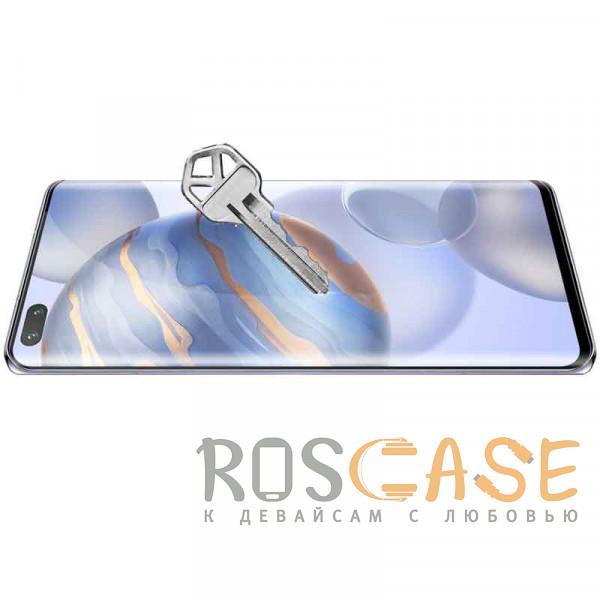 Фотография Черное Nillkin 3D DS+ Max | Защитное стекло полноэкранное с полной проклейкой для Huawei Honor 30 Pro / Nova 7 Pro