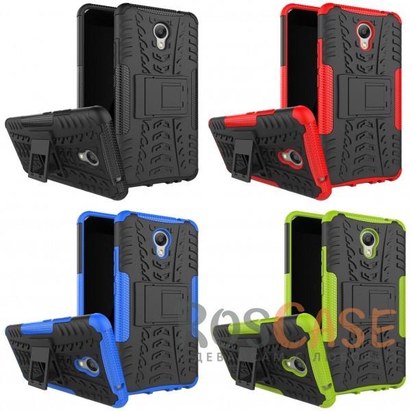 Противоударный двухслойный чехол Shield для Meizu M5 Note с подставкойОписание:совместим с Meizu M5 Note;удобная функция подставки;материал - поликарбонат, термополиуретан;тип - накладка;ударопрочная конструкция;предусмотрены все необходимые вырезы;рельефная фактура.<br><br>Тип: Чехол<br>Бренд: Epik<br>Материал: TPU