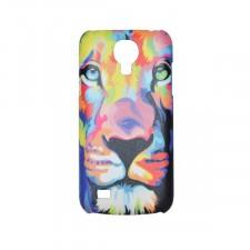 Красочный чехол со львом  для Samsung Galaxy S4 mini (i9190)