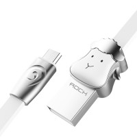 ROCK Chinese Zodiac | Кабель MicroUSB со штекером в виде животных (1 метр) для Подарки для парня