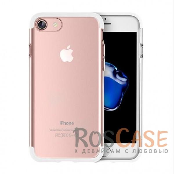 TPU+PC чехол Rock Cheer Series для Apple iPhone 7 (4.7) (Белый)Описание:компания&amp;nbsp;Rock;материалы: термополиуретан, поликарбонат;совместимость: Apple iPhone 7 (4.7);тип: накладка.<br><br>Тип: Чехол<br>Бренд: ROCK<br>Материал: TPU