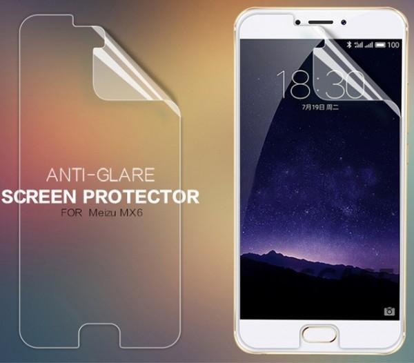 Защитная пленка Nillkin для Meizu MX6 (Матовая)Описание:бренд:&amp;nbsp;Nillkin;разработана для Meizu MX6;материал: полимер;тип: защитная пленка.&amp;nbsp;Особенности:учитывает все особенности экрана;защищает от царапин и потертостей;функция анти-блик;обеспечивает приватность информации на дисплее;защищает от ультрафиолетового излучения;ультратонкая.<br><br>Тип: Защитная пленка<br>Бренд: Nillkin
