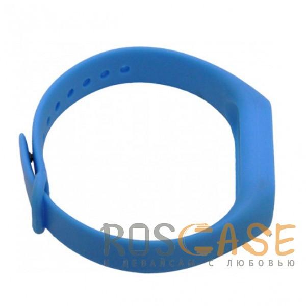 Изображение Голубой / Белый Xiaomi Mi Band 2 | Ремешок для фитнес-браслета