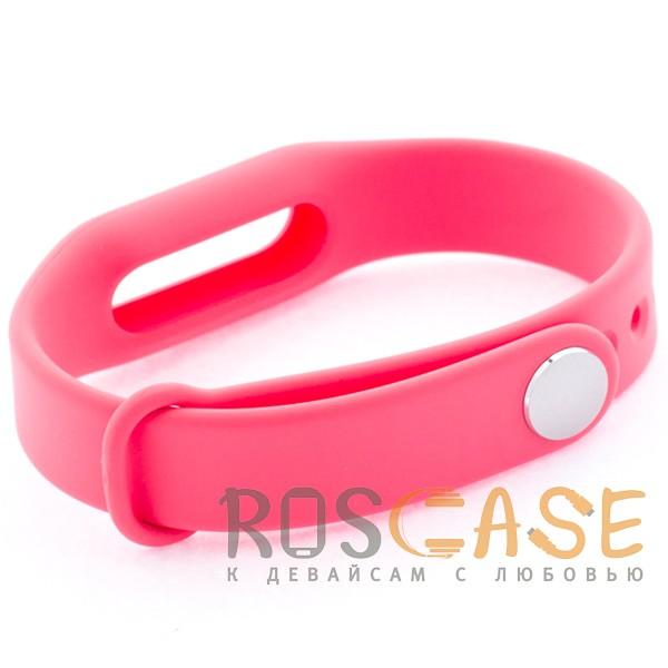 Фотография Розовый Xiaomi Mi Band | Ремешок для фитнес-браслета