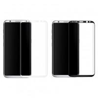 Devia   Ударопрочное стекло с полной защитой экрана и цветной рамкой по краям для Samsung G950 Galaxy S8