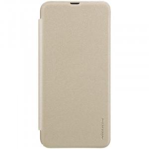 Кожаный чехол (книжка) Nillkin Sparkle Series  для Samsung Galaxy A50s