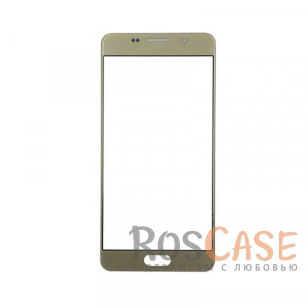 Защитное стекло CaseGuru Tempered Glass на весь экран для Samsung A710F Galaxy A7 (2016) (Золотое)<br><br>Тип: Защитное стекло<br>Бренд: CaseGuru