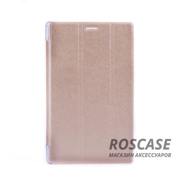 Кожаный чехол-книжка TTX Elegant Series для Asus ZenPad 8.0 (Z380C) (Золотой)Описание: производитель: компания TTX;подходит девайсам: Asus ZenPad 8.0 (Z380C);изготовлен из материалов: пластик, полиуретан, искусственный материал под кожу;форма: чехол в виде книжки.Особенности: современная технологическая обработка;полное соответствие форме устройства;необходимые разъемы;уникальная поверхность чехла.<br><br>Тип: Чехол<br>Бренд: TTX<br>Материал: Искусственная кожа