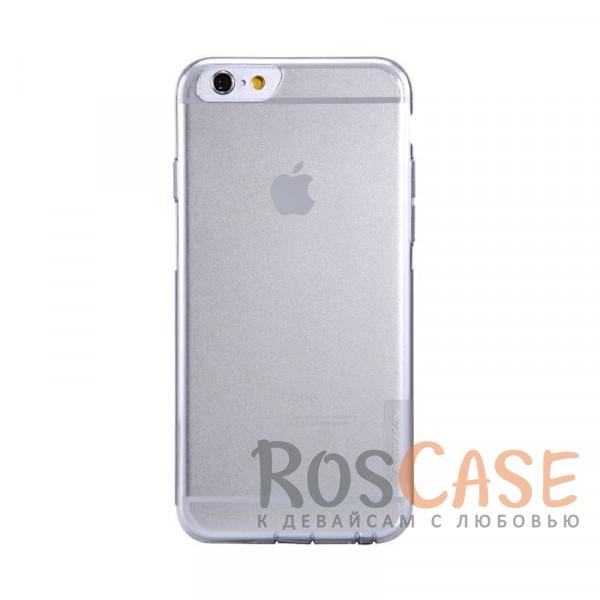 Мягкий прозрачный силиконовый чехол для Apple iPhone 6 plus (5.5)  / 6s plus (5.5) (Бесцветный (прозрачный))Описание:производитель  - &amp;nbsp;Nillkin;совместимость: Apple iPhone 6 plus (5.5) / 6s plus (5.5);материал  -  термополиуретан;форма  -  накладка.&amp;nbsp;Особенности:в наличии все вырезы;матовая поверхность;не увеличивает габариты;защита от ударов и царапин;на накладке не видны &amp;laquo;пальчики&amp;raquo;.<br><br>Тип: Чехол<br>Бренд: Nillkin<br>Материал: TPU