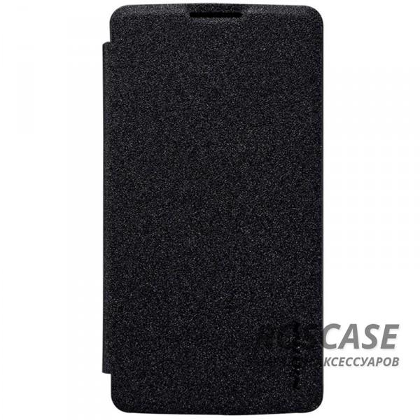 Кожаный чехол (книжка) Nillkin Sparkle Series для LG H324 Leon (Черный)Описание:бренд&amp;nbsp;Nillkin;изготовлен специально для LG H324 Leon;материал: искусственная кожа, поликарбонат;тип: чехол-книжка.Особенности:не скользит в руках;защита от механических повреждений;не выгорает;блестящая поверхность;надежная фиксация.<br><br>Тип: Чехол<br>Бренд: Nillkin<br>Материал: Искусственная кожа