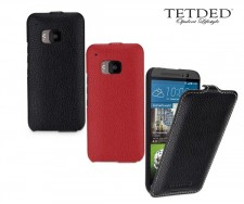 TETDED натур. кожа | Чехол-флип для HTC One / M9
