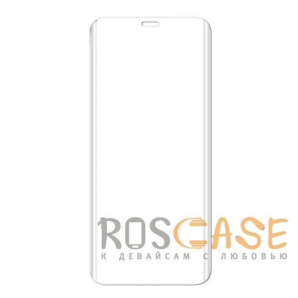 Фото Прозрачное Объемное защитное 3D стекло для Samsung Galaxy S9 на весь экран