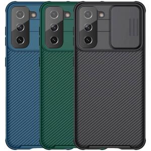 Nillkin CamShield Pro | Чехол из пластика и TPU с защитой камеры  для Samsung Galaxy S21