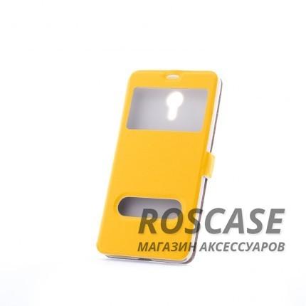 Чехол (книжка) с PC креплением для Meizu M2 Note (Желтый)Описание:разработан компанией&amp;nbsp;Epik;спроектирован для Meizu M2 Note;материалы: синтетическая кожа, поликарбонат;тип: чехол-книжка.&amp;nbsp;Особенности:имеются все функциональные вырезы;не скользит в руках;магнитная застежка;окошки в обложке;защита от ударов и падений;превращается в подставку.<br><br>Тип: Чехол<br>Бренд: Epik<br>Материал: Искусственная кожа
