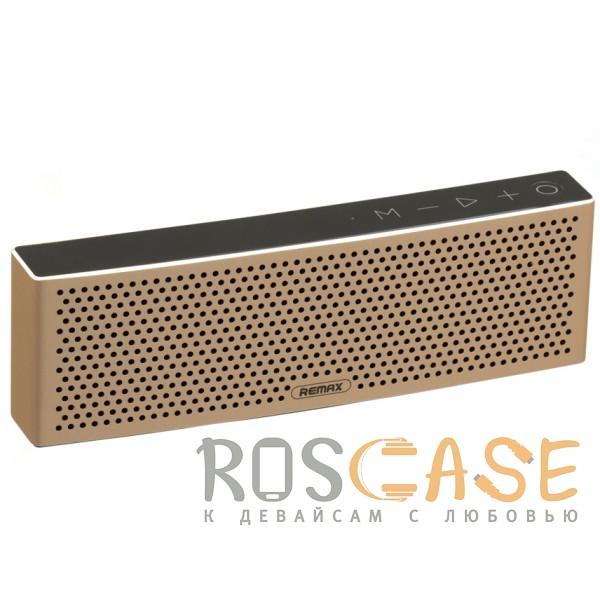 Фото Remax RB-M20 | Портативная Bluetooth колонка прямоугольной формы с сенсорными кнопками
