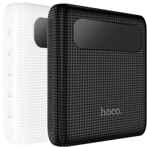 HOCO B20 | Портативное зарядное устройство Power Bank с двумя выходами USB и экраном (10000 mAh) для Huawei Honor 5A / Y6 II