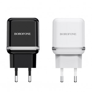 СЗУ Borofone BA25A (2USB / 2.4A) для Samsung Galaxy S9 Plus (G965F)