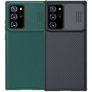 Nillkin CamShield Pro | Чехол из пластика и TPU с защитой камеры  для Samsung Galaxy Note 20 Ultra