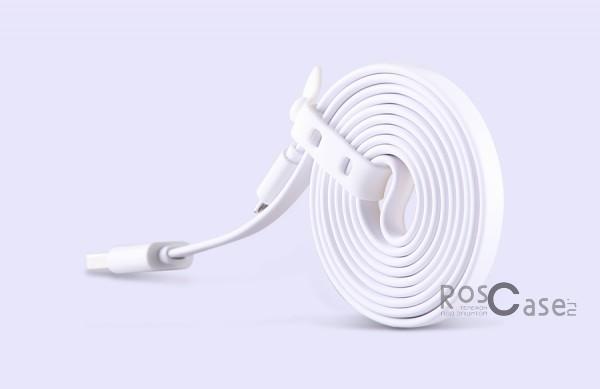 Кабель Nillkin MicroUSB (Белый)Описание:бренд&amp;nbsp;Nillkin;материал - TPE (термоэластопласт);тип&amp;nbsp; - &amp;nbsp;дата кабель;совместимость: Android-устройства с разъемом microUSB.Особенности:гибкий и пластичный;длина&amp;nbsp;кабеля - 120 см;ширина - 6,4 мм, толщина - 2,2 мм;разъемы -&amp;nbsp;Micro USB, USB;высокая скорость передачи данных;совмещает три в одном: синхронизация данных, передача данных, зарядка;устойчив к воздействию низких температур.<br><br>Тип: USB кабель/адаптер<br>Бренд: Nillkin