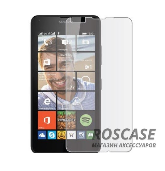Защитная пленка Ultra Screen Protector для Microsoft Lumia 640XL (Матовая)<br><br>Тип: Защитная пленка<br>Бренд: Epik
