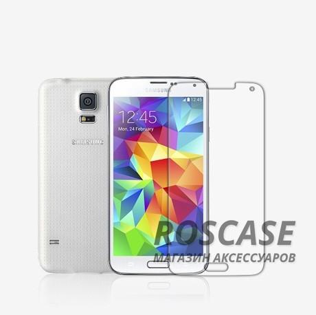 Защитная пленка Nillkin для Samsung G900 Galaxy S5 (Матовая)Описание:производитель - Nillkin;совместимость со смартфонами Samsung G900 Galaxy S5;используемый материал: полимер;форма: защитная пленка.Особенности:матовая поверхностьклассический дизайн;ультратонкая;не выцветает;полноценная защита.<br><br>Тип: Защитная пленка<br>Бренд: Nillkin