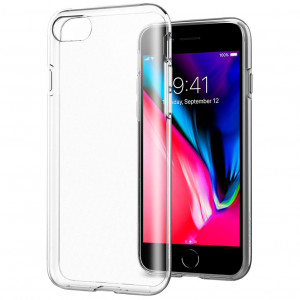 Clear Original | Прозрачный TPU чехол 2мм  для iPhone SE (2020)