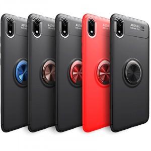 Deen ColorRing | Силиконовый чехол под магнитный держатель для Xiaomi Redmi 7A