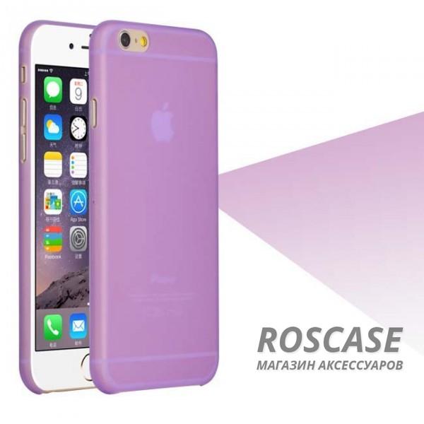 Пластиковая накладка Ultrathin 0.3mm для Apple iPhone 6/6s (4.7) (Фиолетовый (матовый))Описание:компания разработчик: Epik;совместимость с устройством модели: Apple iPhone 6/6s (4.7);материал изделия: пластик;конфигурация: чехол в виде накладки.Особенности:элегантный дизайн;высокий класс износоустойчивости и прочности;не увеличивает объем смартфона;простая установка и надежная фиксация;имеет все необходимые функциональные вырезы.<br><br>Тип: Чехол<br>Бренд: Epik<br>Материал: TPU
